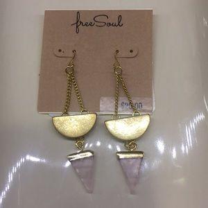 Free Soul Earrings, NWT
